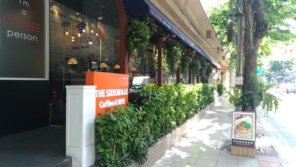 タイ バンコク ノマド Sidewalk