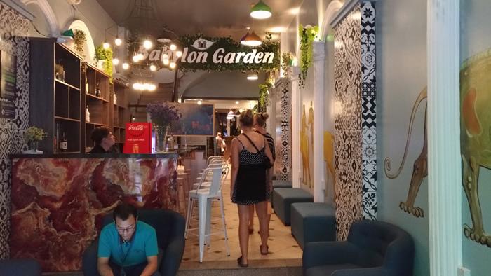 Babylon Garden Hostel 安宿 ハノイ