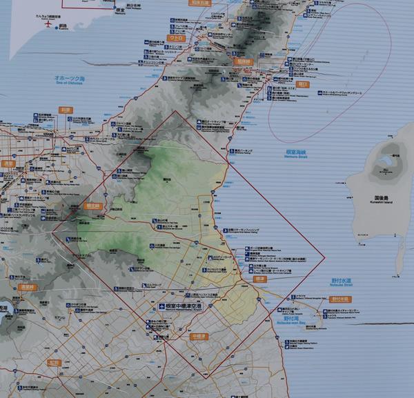 北方領土 目視 北海道